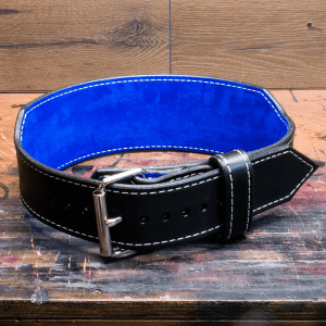 A tapered weightlifting belt
