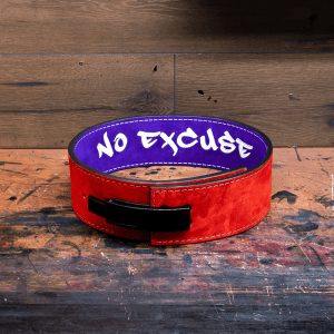 a 10mm lever weightlifting belt